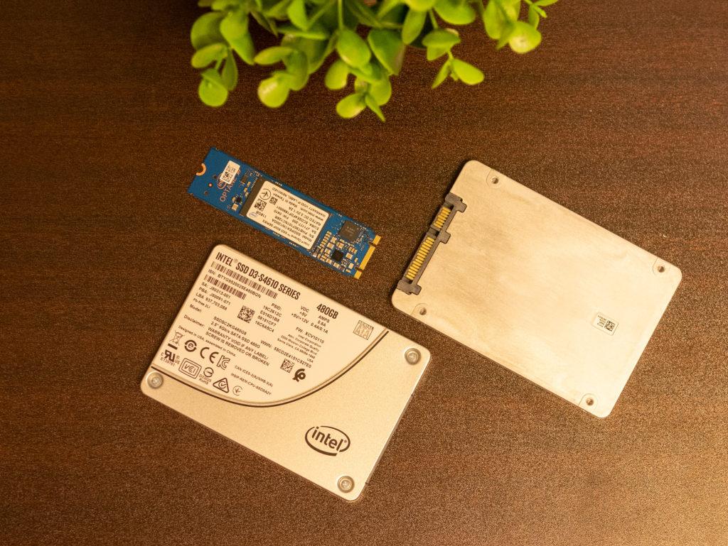 intel Optane 800p + intel D3-S4610