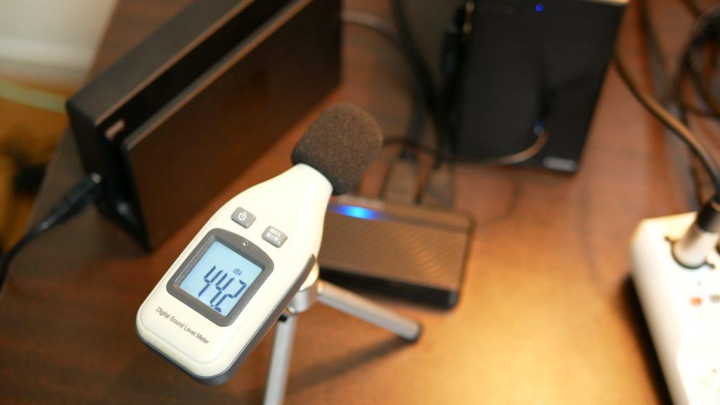 ASRock DeskMini X300の騒音値